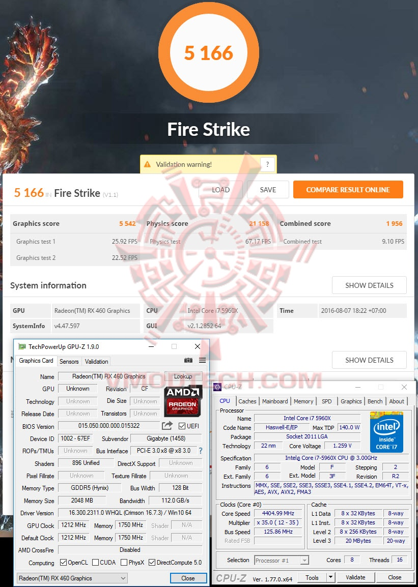fs GIGABYTE Radeon RX 460 OC Edition 2GB GDDR5 Review