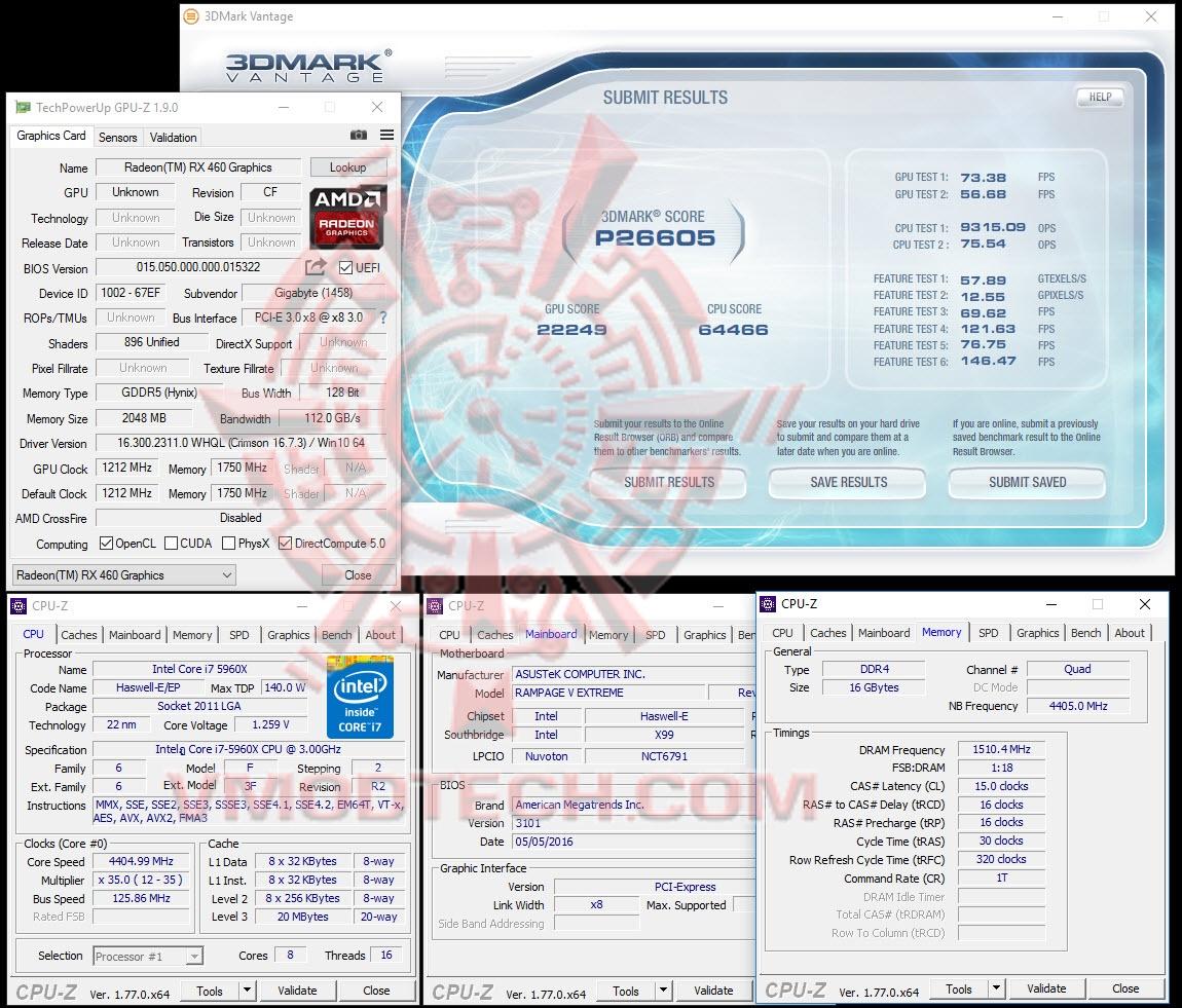 vantage GIGABYTE Radeon RX 460 OC Edition 2GB GDDR5 Review