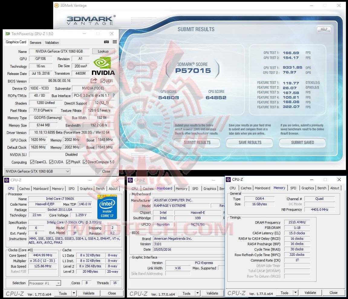 PALIT GeForce GTX 1060 Super JetStream 6GB GDDR5 Review