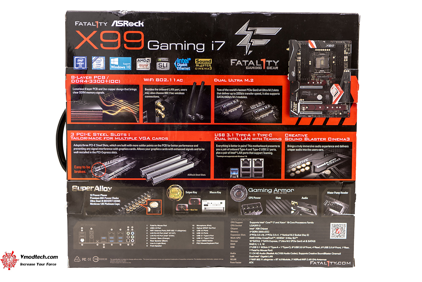 dsc 2042 ASRock Fatal1ty X99 Professional Gaming i7 Motherboard Review