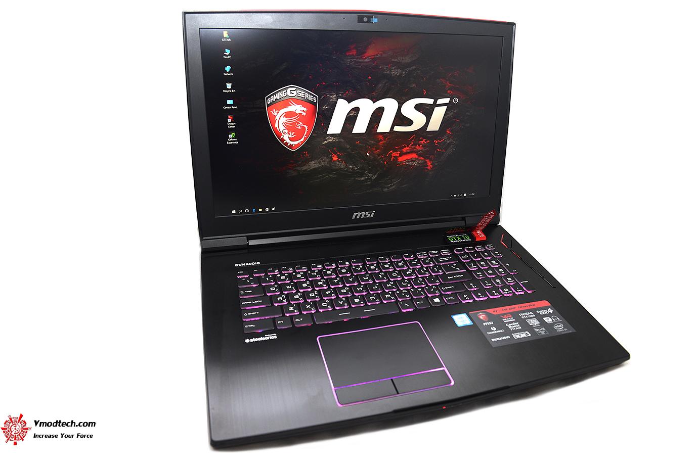 dsc 4795 MSI GT73VR 6RF Titan Pro Review