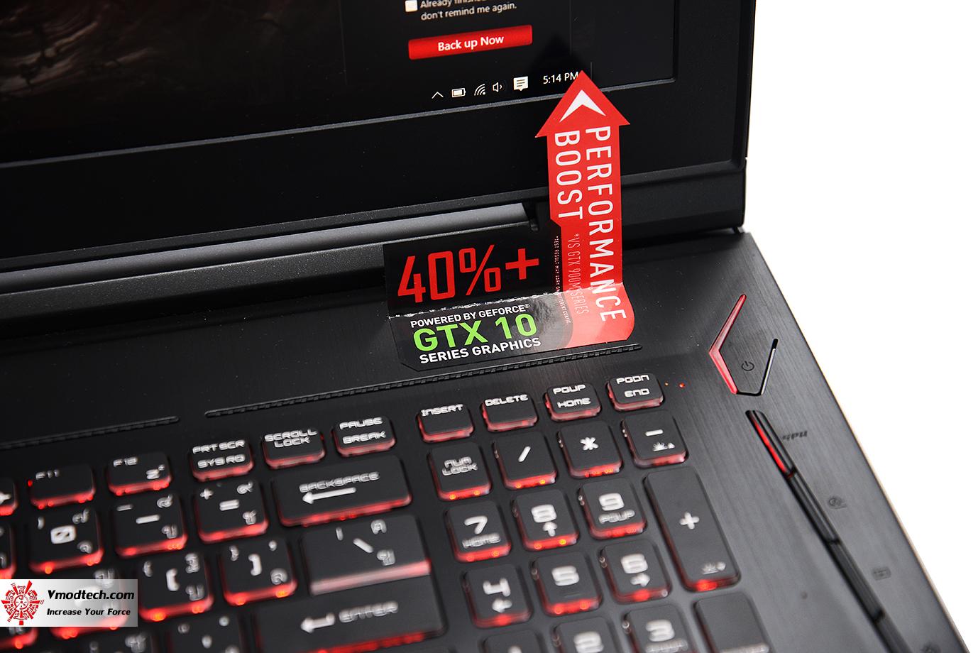 dsc 4859 MSI GT73VR 6RF Titan Pro Review