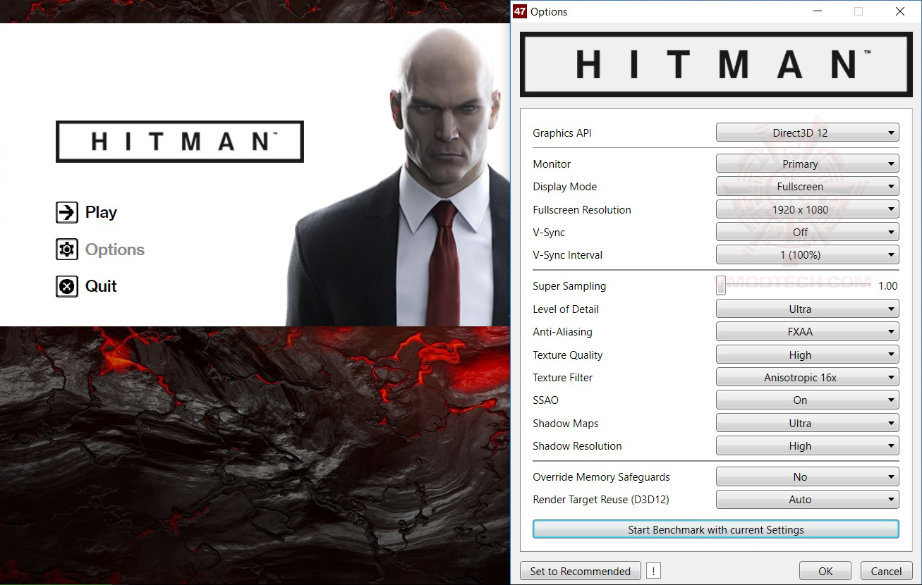 hitman set MSI GT73VR 6RF Titan Pro Review