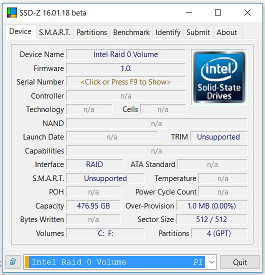 intel nvm MSI GT73VR 6RF Titan Pro Review