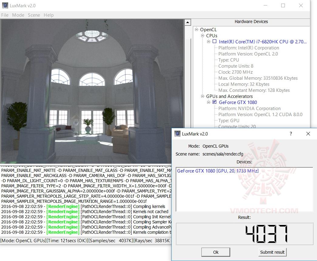 luxmark MSI GT73VR 6RF Titan Pro Review