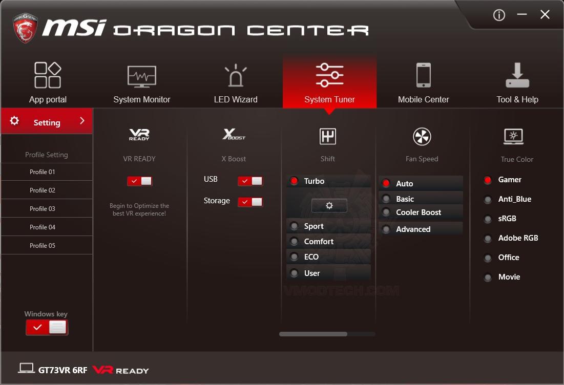 oc MSI GT73VR 6RF Titan Pro Review