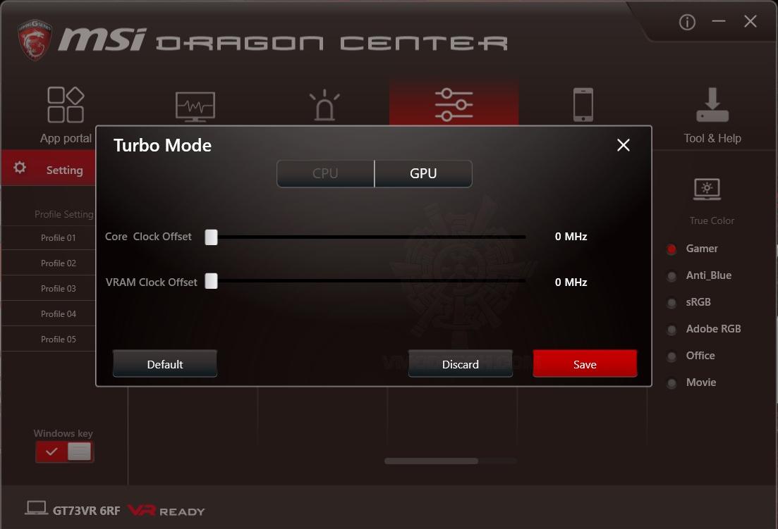 oc2 MSI GT73VR 6RF Titan Pro Review