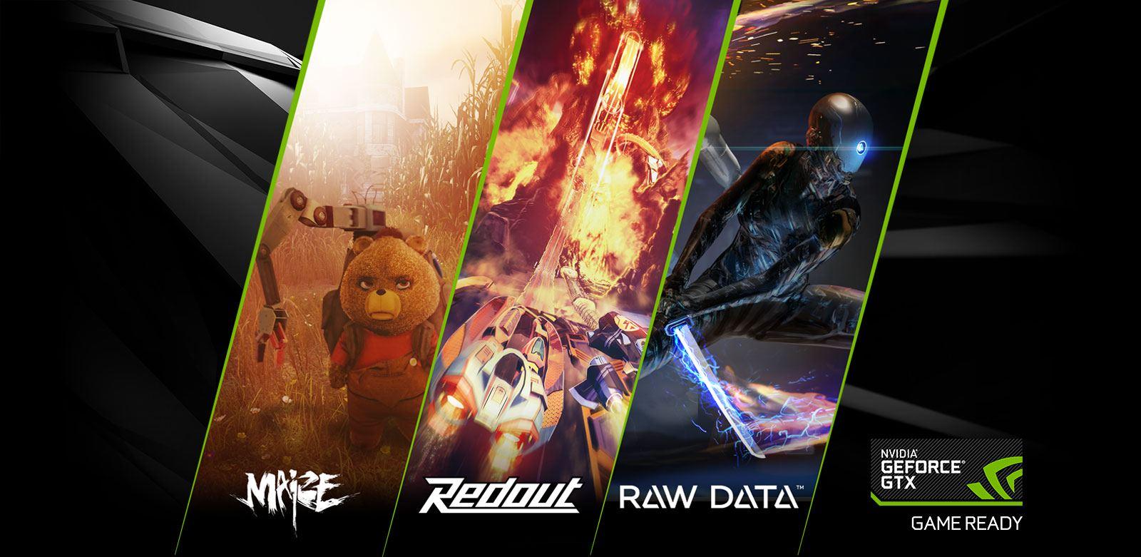 header ซื้อการ์ดจอ EVGA GeForce GTX 1060, 1050 Ti หรือ 1050 เลือกรับเกมส์ Maize, Redout หรือ Raw Data ไปแบบฟรีๆ