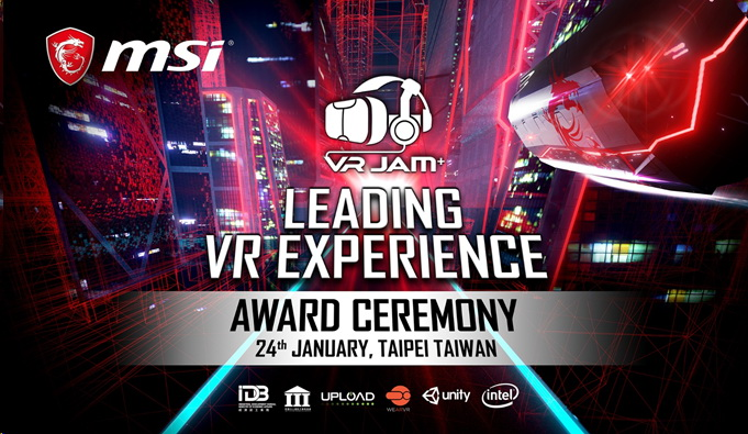 1 MSI ได้รับเกียรติในการประกาศรางวัลสุดยิ่งใหญ่ และรางวัลสูงสุดของนักพัฒนาเกมที่งาน VR JAM 24 มกราคมนี้