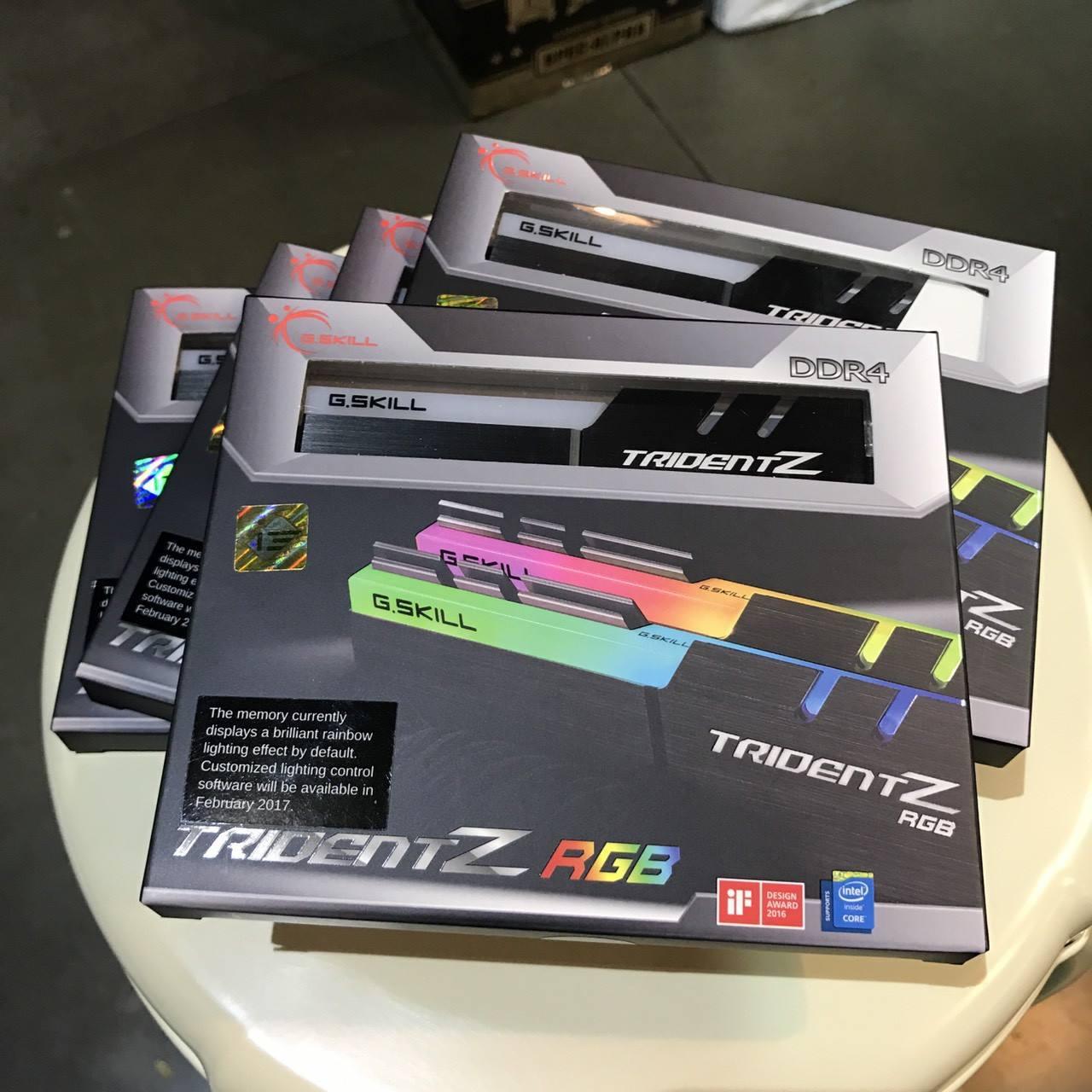 16179797 1334337779922107 7014558488982325535 o G.Skill Trident Z DDR4 16GB 3000MHz (8GB x2) สุดแรงพร้อมสีสรรแบบจัดเต็มด้วย RGB วางจำหน่ายแล้วในไทย