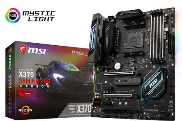 msi x370 gaming pro carbon 1 แอบส่องรูปเมนบอร์ด AM4 ต้อนรับการมาของ AMD RYZEN ของแบรนด์ MSI และ ASRock X370 & B350 Motherboards กันครับ
