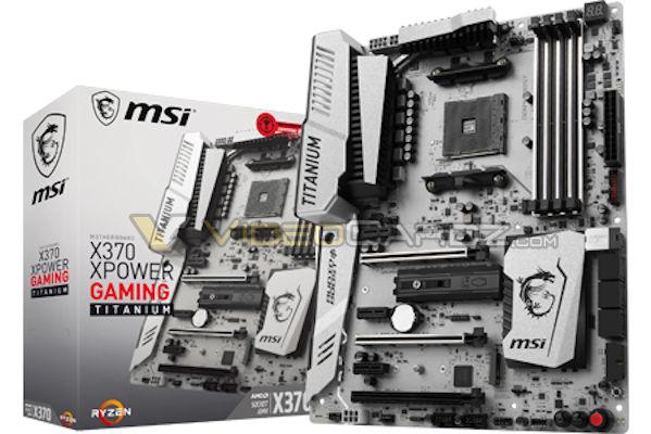 msi x370 xpower titanium 1 แอบส่องรูปเมนบอร์ด AM4 ต้อนรับการมาของ AMD RYZEN ของแบรนด์ MSI และ ASRock X370 & B350 Motherboards กันครับ