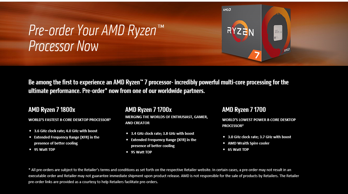 info AMD RYZEN 7 1800X REVIEW