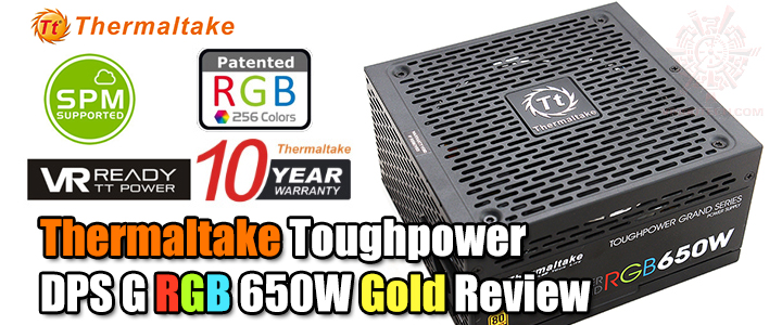 thermaltake toughpower dps g rgb 650w gold Thermaltake Toughpower DPS G RGB 650W Gold Review