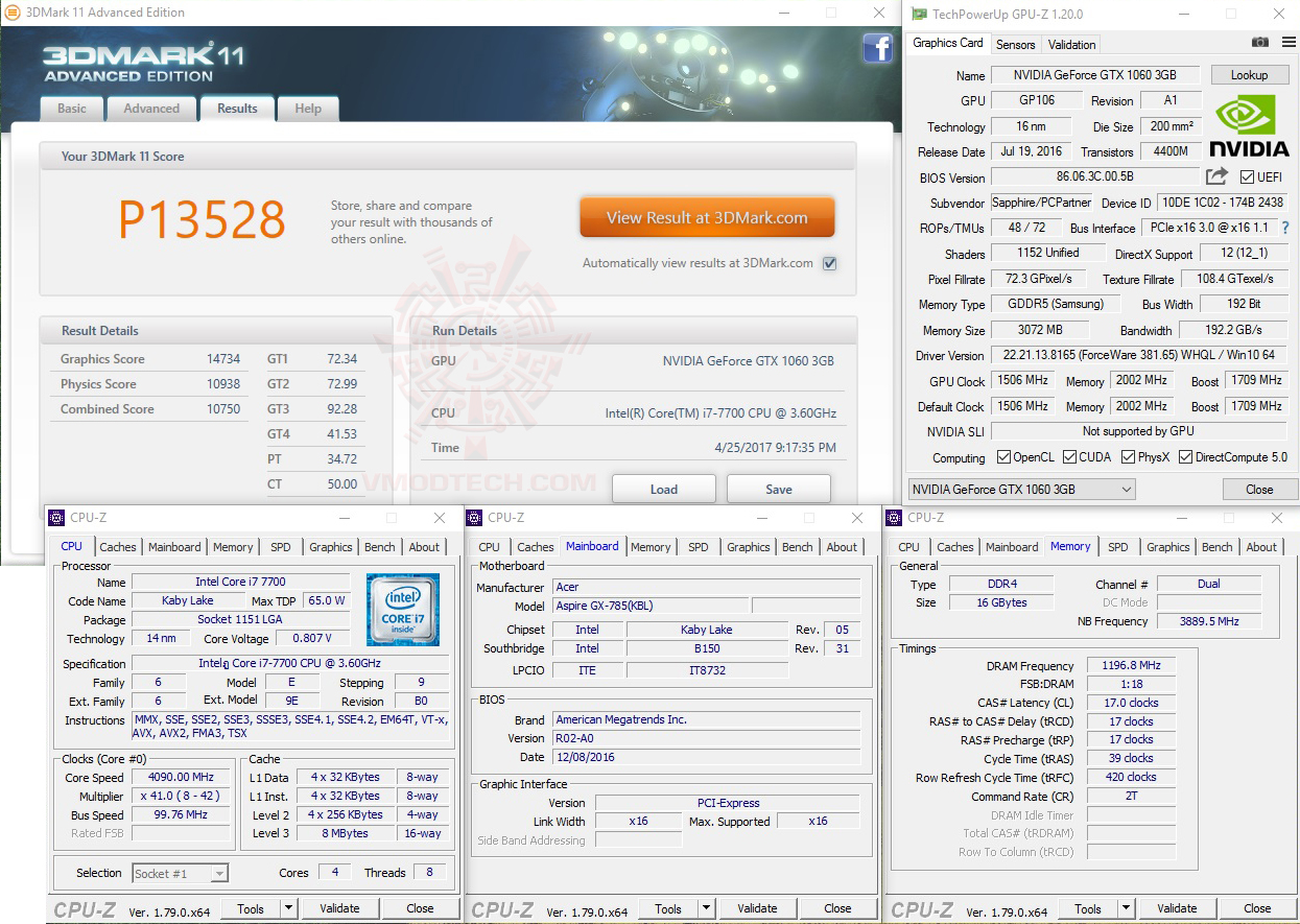 11 Acer Aspire GX 785 Review