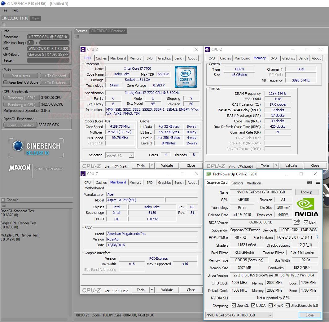 cine10 Acer Aspire GX 785 Review