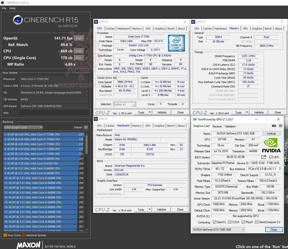 cine15 Acer Aspire GX 785 Review