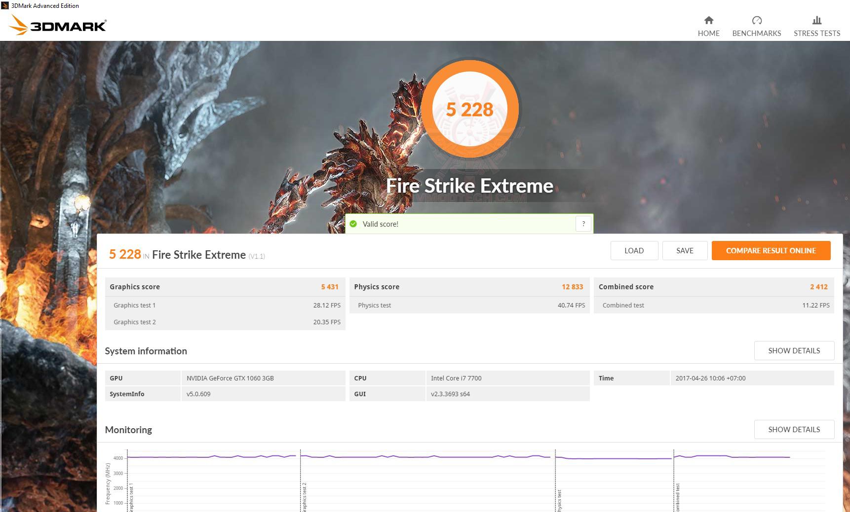 fire ex Acer Aspire GX 785 Review
