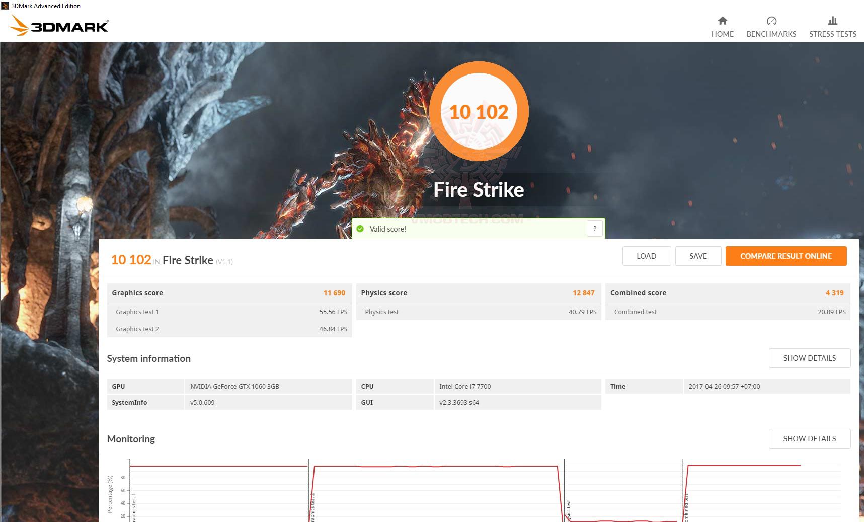 fire Acer Aspire GX 785 Review
