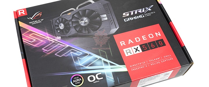 main ASUS Radeon RX 560 Strix Gaming Review