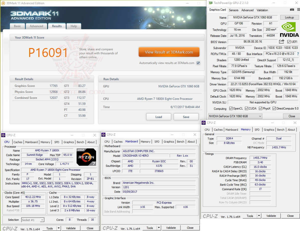11 oc GEIL DDR4 2400Mhz SUPER LUCE Series AMD Edition Review