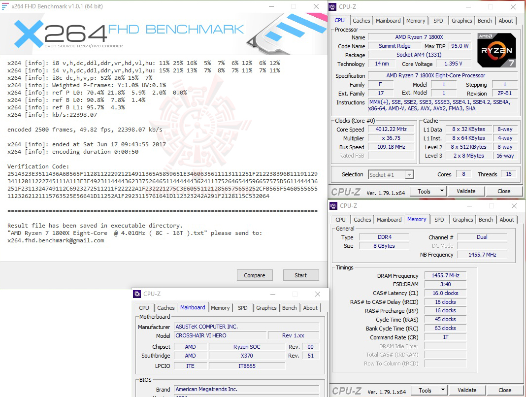 x264 oc 1 GEIL DDR4 2400Mhz SUPER LUCE Series AMD Edition Review