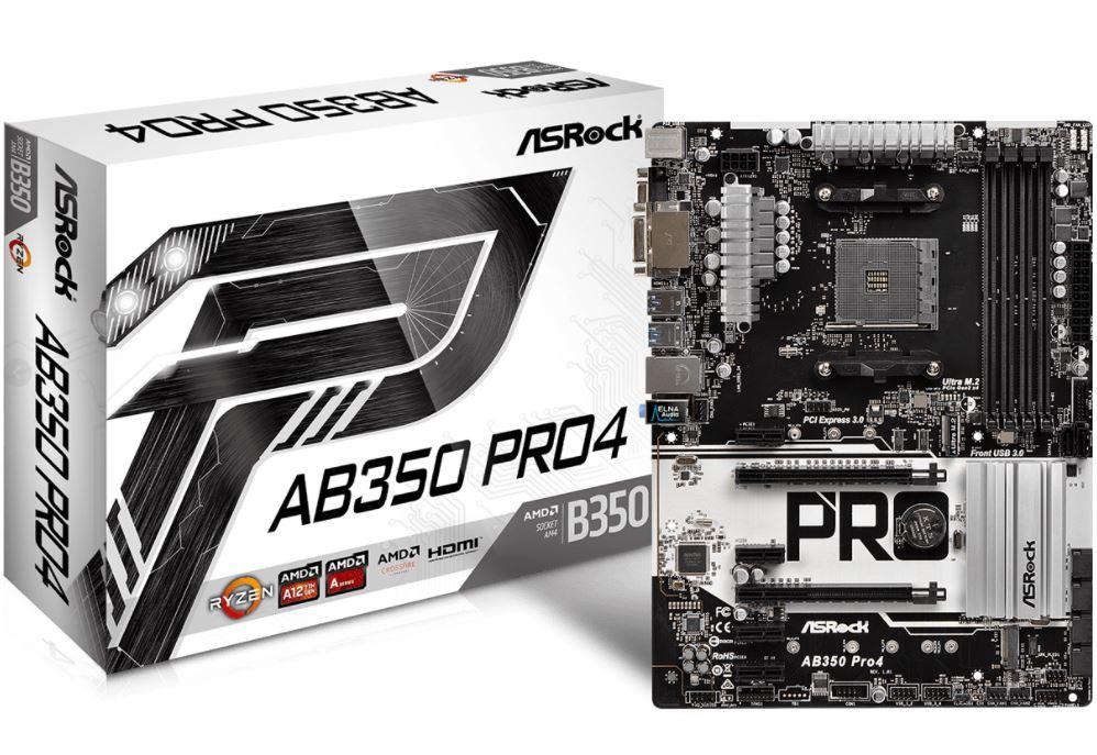 asrock ab350 pro4 11 ASRock AB350 Pro4 เมนบอร์ดสุดคุ้ม ฟีเจอร์ครบครัน สำหรับคอเกม