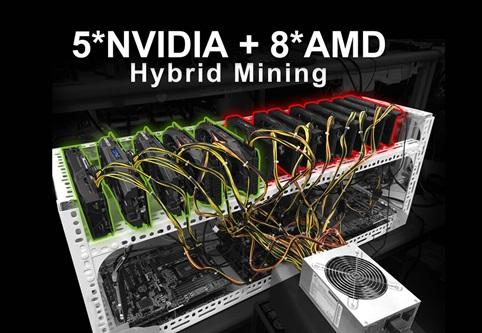 asrock h110 pro btc 2 สร้างชุดขุด 13 GPU ด้วยตัวคุณเอง ร่วมกับ ASRock H110 Pro BTC+