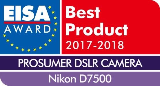 11 นิคอน D7500 คว้ารางวัล EISA Prosumer DSLR Camera 2017 2018 สุดยอดกล้อง DSLR ฟอร์แมต DX จากนิคอนคว้ารางวัลอันทรงเกียรติด้านเทคโนโลยีและการถ่ายภาพจากยุโรป