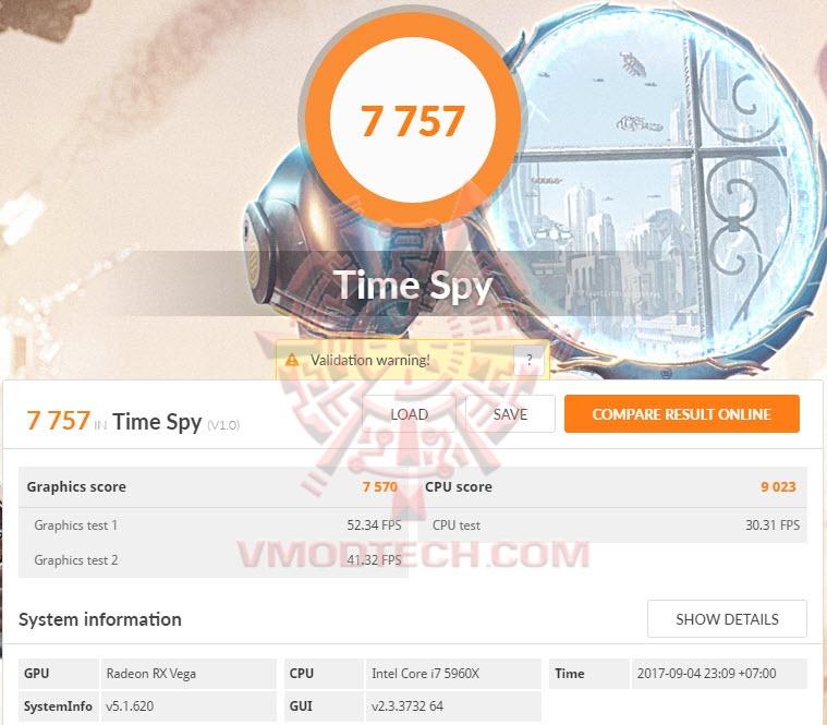AMD Radeon RX Vega 64 8GB HBM2 Review , : : 3DMark Time Spy