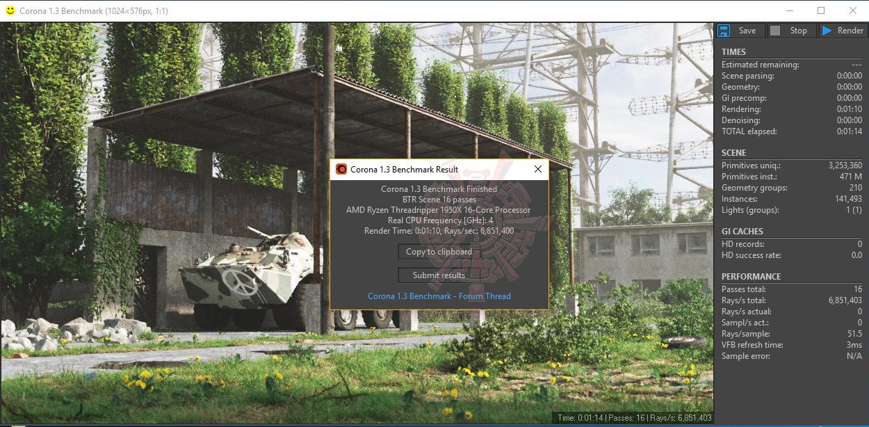 crn G.SKILL Trident Z RGB DDR4 3200MHz 32GB (8GBx4) Quad Channel Review