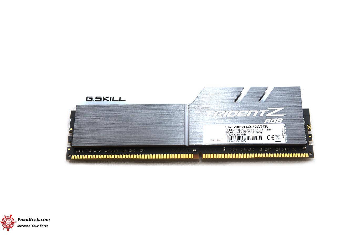 dsc 2952 G.SKILL Trident Z RGB DDR4 3200MHz 32GB (8GBx4) Quad Channel Review