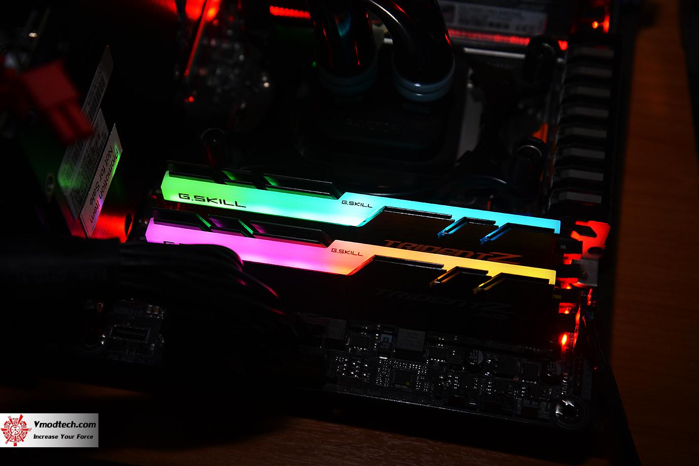 dsc 2986 G.SKILL Trident Z RGB DDR4 3200MHz 32GB (8GBx4) Quad Channel Review