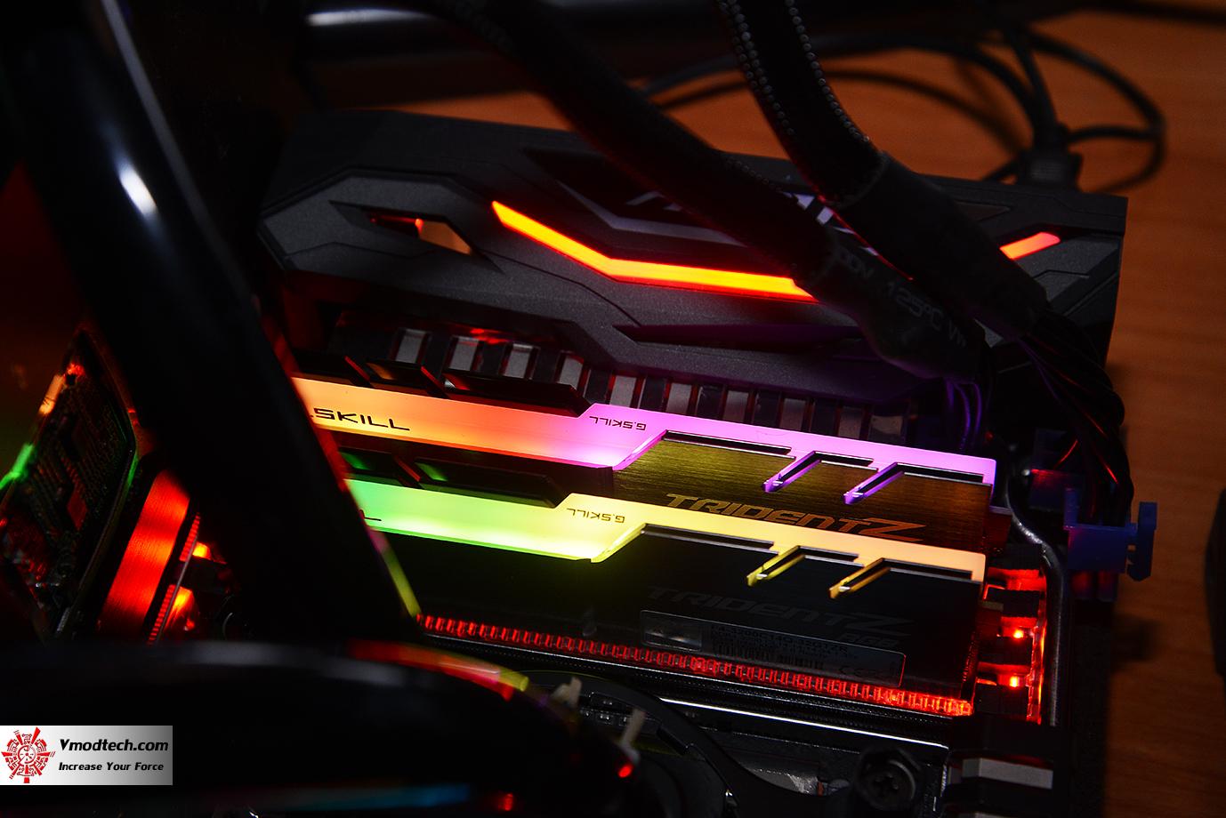 dsc 2990 G.SKILL Trident Z RGB DDR4 3200MHz 32GB (8GBx4) Quad Channel Review