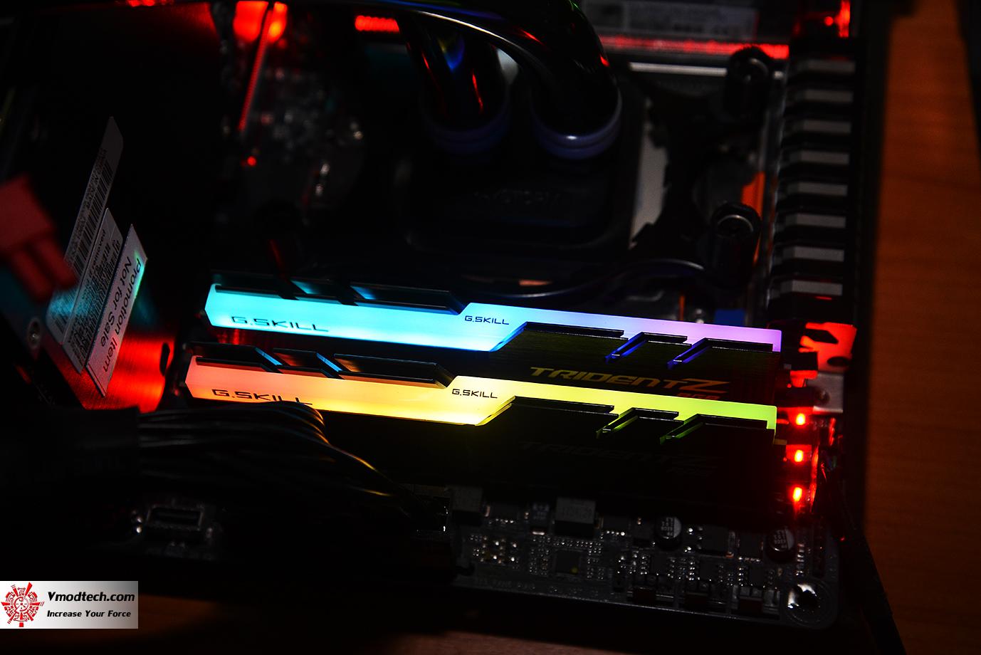 dsc 2991 G.SKILL Trident Z RGB DDR4 3200MHz 32GB (8GBx4) Quad Channel Review