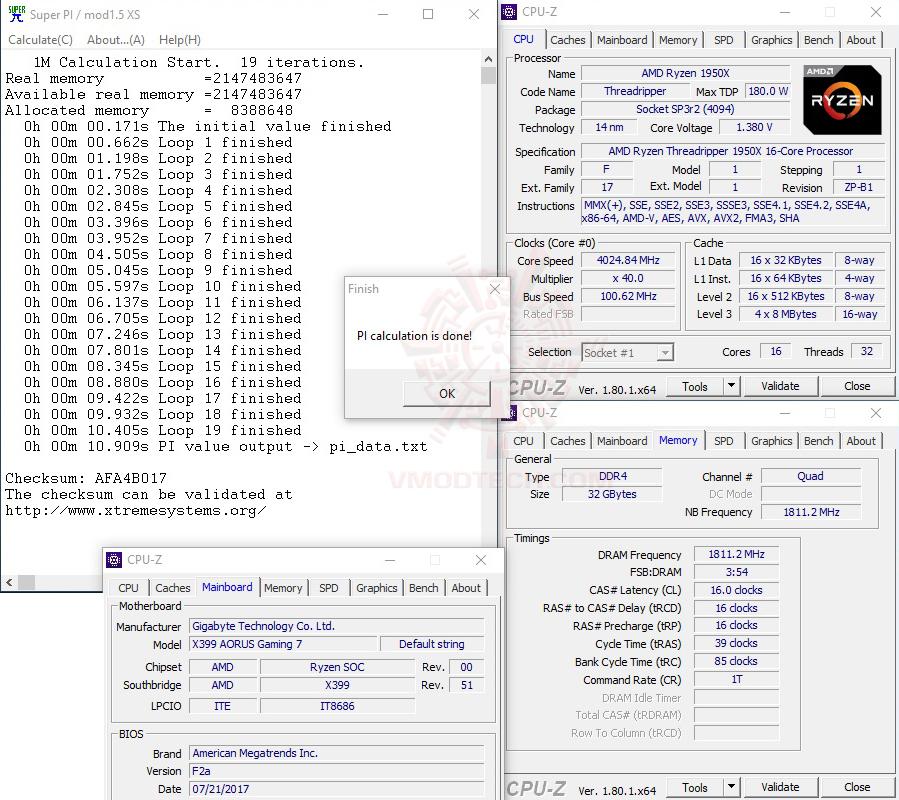 s1 36 G.SKILL Trident Z RGB DDR4 3200MHz 32GB (8GBx4) Quad Channel Review