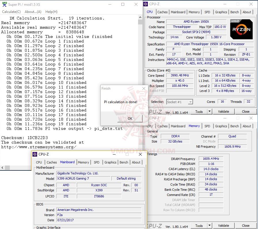 s1 G.SKILL Trident Z RGB DDR4 3200MHz 32GB (8GBx4) Quad Channel Review