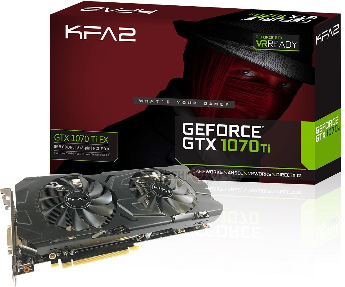 grra8qdej7w1x2ti หลุดกันมาอีกแล้วกับ GTX 1070Ti ชมกันชัดๆกับ KFA2 GeForce GTX 1070 Ti หรือแบรนด์ GALAX ในบ้านเรา