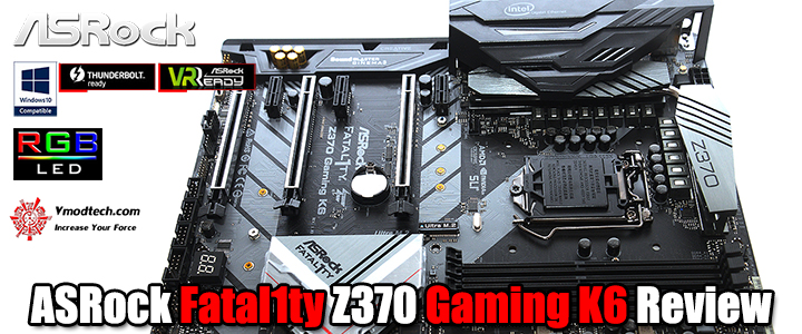asrock fatal1ty z370 gaming k6 review ASRock Fatal1ty Z370 Gaming K6 Review