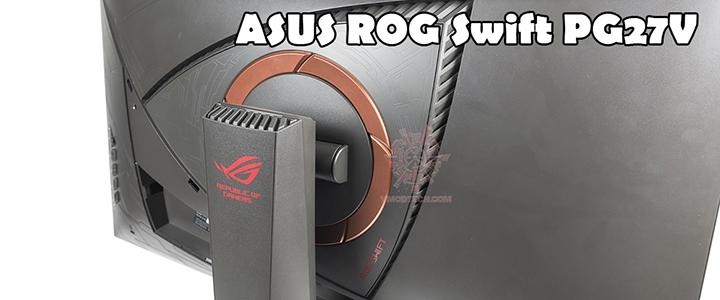 main ASUS ROG SWIFT PG27VQ Curved Gaming Monitor – 27 inch 2K WQHD Review