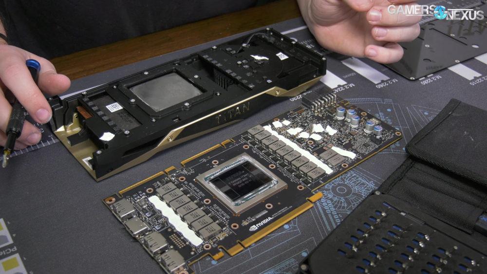 titan v disassembly 2 1000x5631 แกะการ์ดจอ NVIDIA TITAN V ให้ชมกันแบบชัดๆกับขุมพลังฟีเจอร์ GV100 400 GPU