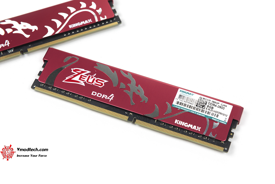 tpp 2415 Kingmax Zeus Dragon DDR4 Gaming DDR4 2800 MHz 8GB x 2 Review