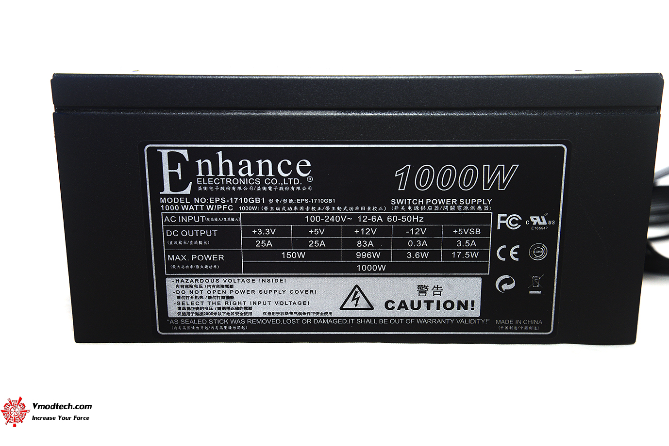 dsc 7026 ENHANCE POWER SUPPLY 1000W EPS 1710 GB1 REVIEW