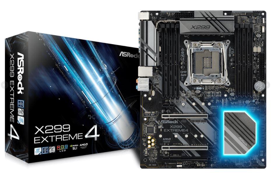 asrock x299 extreme4 1 ASRock X299 Extreme4 รีดพลังให้กับ Intel X series สำหรับมืออาชีพและเกมเมอร์สุดขั้ว