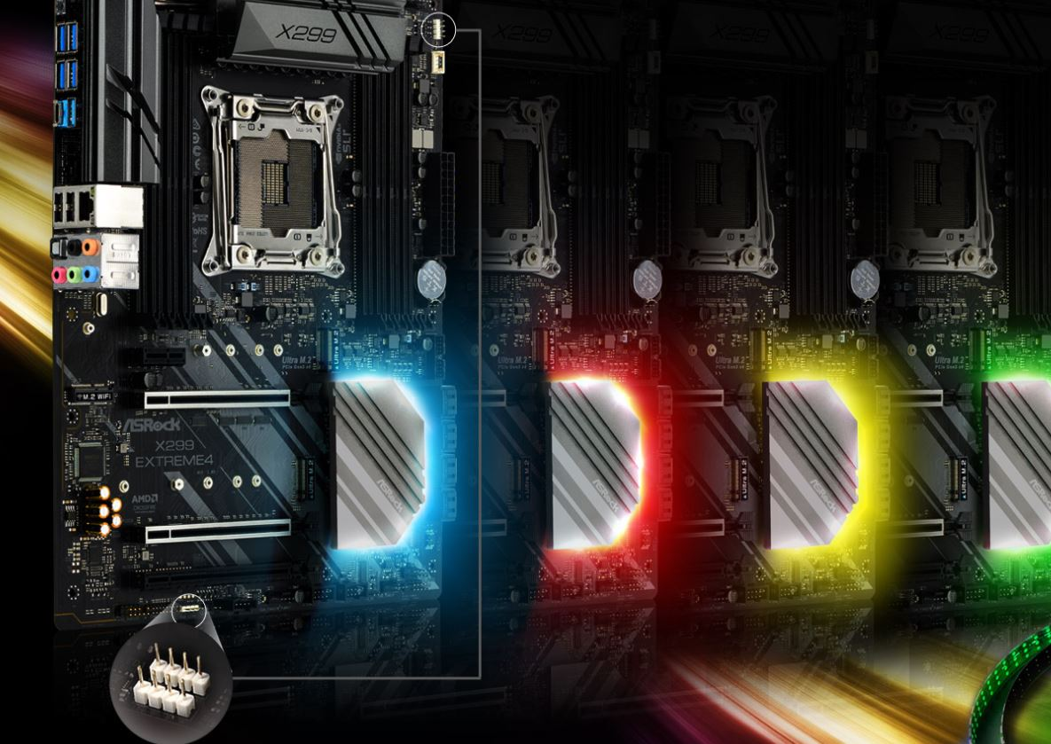 asrock x299 extreme4 3 ASRock X299 Extreme4 รีดพลังให้กับ Intel X series สำหรับมืออาชีพและเกมเมอร์สุดขั้ว