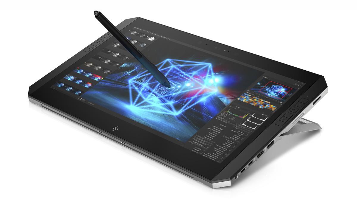 coreset frontleft tabletup with pen HP เอชพี อิงค์ เปิดตัว พีซี เวิร์คสเตชั่น สมรรถภาพทรงพลังสูงสุด รุ่นแรกที่แยกจอได้