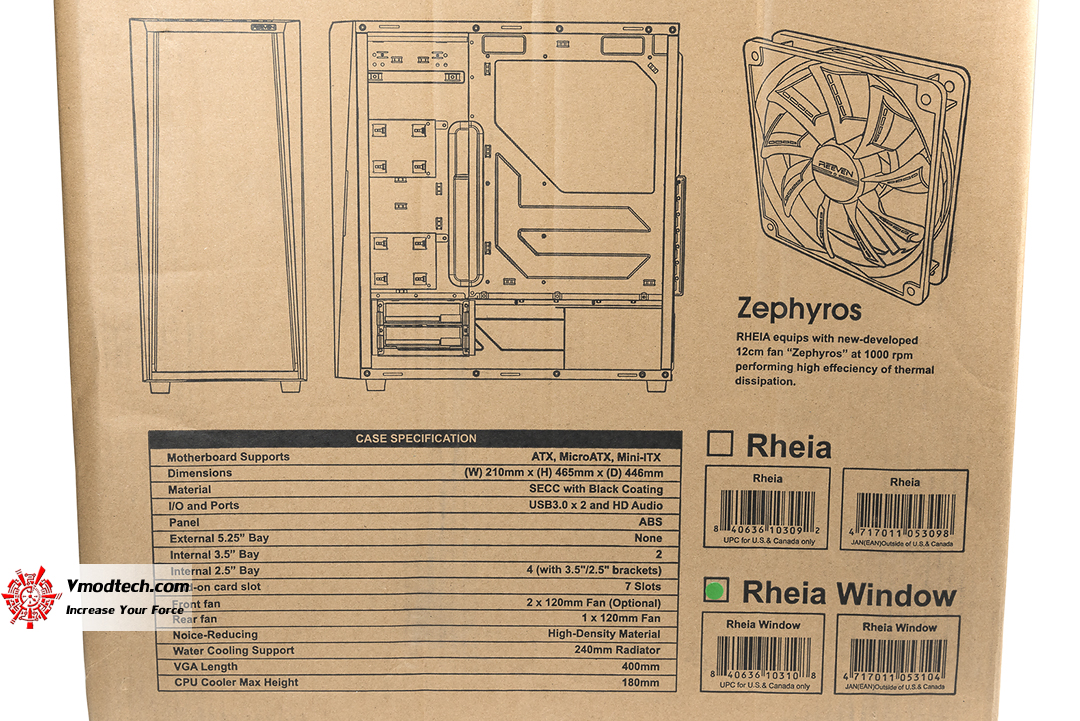 tpp 2942 REEVEN RHEIA Silent Tower Computer Case Review