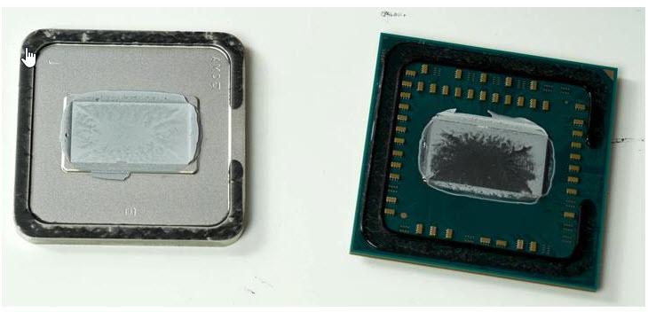 2018 02 16 17 27 02 แงะกระดอง AMD Ryzen 5 2400G เปรียบเทียบอุณหภูมิกันแบบละเอียดระหว่างซิลิโคนธรรมดากับ Liquid ซิลิโคนโลหะเหลว
