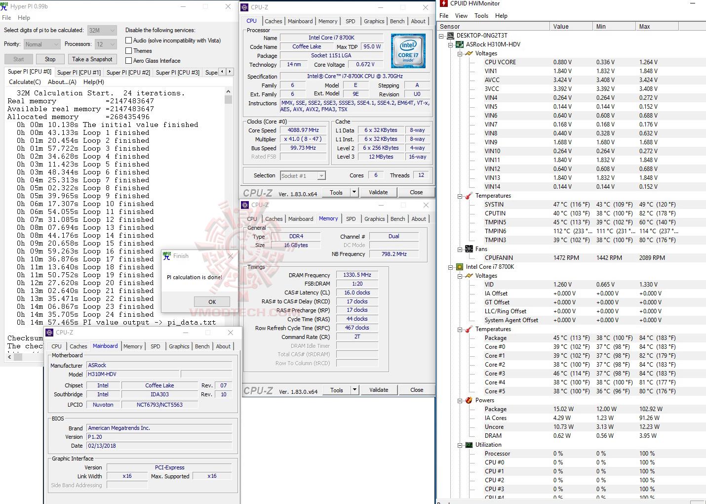 h32 1 ASRock H310M HDV Review