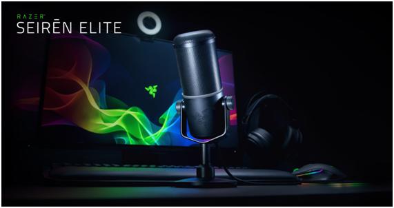 image Razer Seiren Elite ไมโครโฟน Streamer สู่มืออาชีพ
